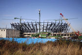 London Olympic Stadium under construction. — Стоковое фото