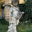 Stock Photo: Angel in cemetery