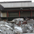 Building Remains at Demolition Site — Stock Photo