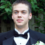 Handsome Prom Teen Horizontal — Stock Photo #6846591