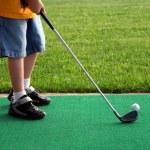 Little Golfer 2 — Stock Photo #6847771