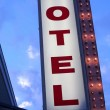 Stock Photo: Motel Sign