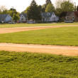 Neighborhood Baseball — Stock Photo