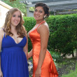 Prom Sisters at Home — Stock Photo #6849262
