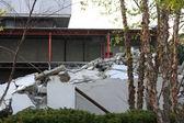 Building Demolition Debris — Stock Photo