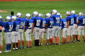 High school fotboll 2 — Stockfoto