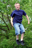 Jumping Boy 1 — Stock Photo