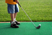 Little Golfer 2 — Stock Photo