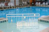 Motel Pool — Stock Photo