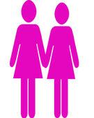 Same Sex Female — Stock Photo