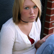 Self-Assured Young Woman — Stock Photo