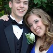 Stock Photo: Smiling Prom Couple Portrait 2