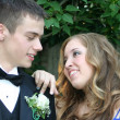 Sweet Prom Couple — Stock Photo #6850827