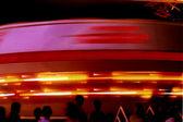 Spinning Spaceship — Stockfoto