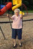 スイング祖母 2 — ストック写真