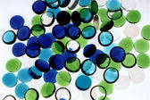 Abstract Blue Green — Stock Photo