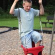 Stock Photo: Too Big To Swing 2