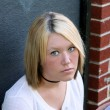 Unhappy Young Woman — Stock Photo #7507986