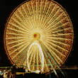 Wheel Aglow - Stock Photo