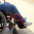 Stock Photo: Wheelchair On Boardwalk