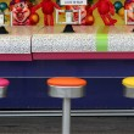 Boardwalk Water Game — Stock Photo #7742196