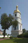 Belltower of St. Sophia complex in Kiev — Stock Photo