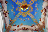 Ceiling of arbor in monastery — Stock Photo