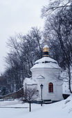 Chapel in winter — Stock Photo
