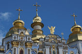 Mykhailivsky cathedral in Kiev — Stock Photo