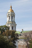 Belltower in Kiev-Pechersk Lavra — Stock Photo
