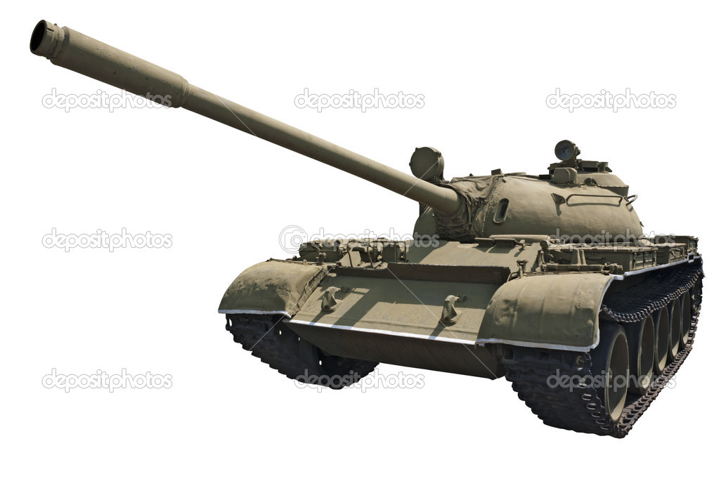 Soviet medium tank T-55 (1955) — Stock Photo #6844440
