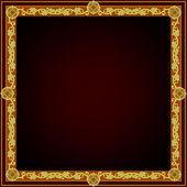 Square frame — Stock Vector