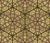 シームレスな六角形のパターン — ストックベクタ