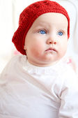 A portrait of a baby girl — Stock Photo
