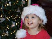 Happy Santa baby — Stock Photo