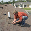 Roofer Working - Foto Stock