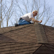 Roof Inspector - Stock Photo
