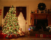 Christmas at home — Stock Photo