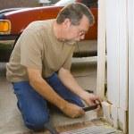 Carpenter repairs — Stock Photo #6769372