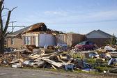 Dégâts de la tornade — Photo