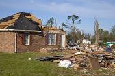 Tornado Path — Stock Photo