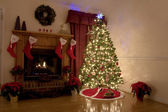 Natale a casa — Foto Stock