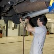 Stock Photo: Mechanic Working