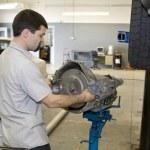 Mechanic Working — Stock Photo