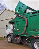 Dumpster pickup — Stock Photo