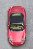 Sports car below — Stock Photo