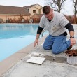 Fall pool service — Stock Photo #6907795