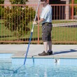 Active Pool Service Technician — Stock Photo #6907801