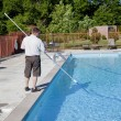 Active Pool Service Technician — Stock Photo #6907803