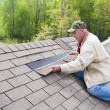 Stock Photo: Roof inspector